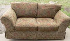 Neutral Color Loveseat/Sofa