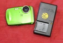 Fujifilm Finepix Z33WP Waterproof Digital Camera-Green