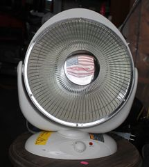 Chicago Electric Parabolic Heater-NP8C