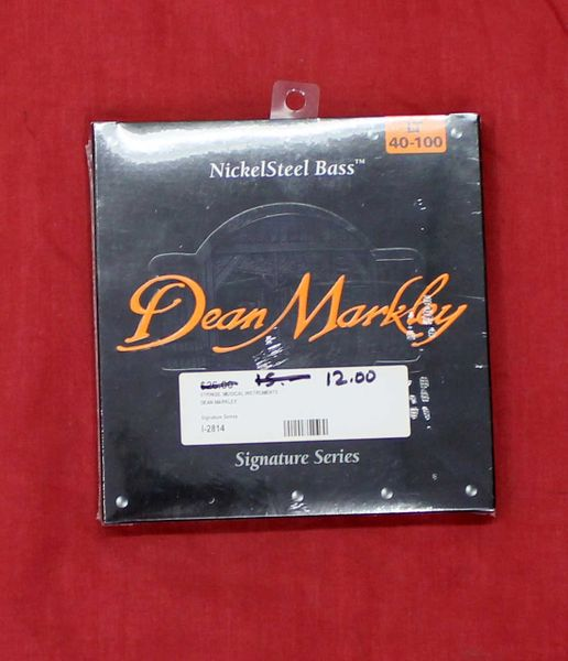 Dean Markley LT 40-100 Nickel Steel Bass Guitar Strings-Signature Series