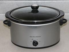 Hamilton Beach Stainless Steel Slow Cooker/Crock Pot