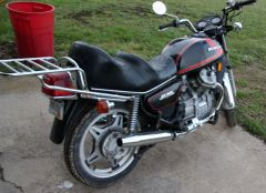 78 Honda CX500 Motorcycle