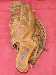 Vintage MacGregor Big Dipper BM7T Glove Mitt John Mayberry Autograph Model
