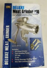DAC Deluxe Meat Grinder #10 New