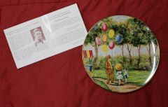 The Balloon Man-Collector Plate