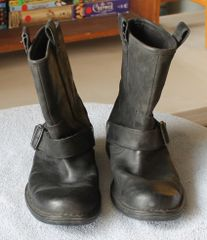 Rockport Black Biker Boot-7M