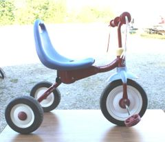 Radio Flyer Fold 2 Go Trike Tricycle