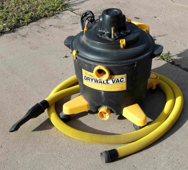Drywall Vac-wet and dry