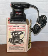 Sears Craftsman 1/6 HP Finishing Sander