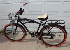 Huffy Nel Lusso Men's Cruiser Bike Bicycle -LIKE NEW