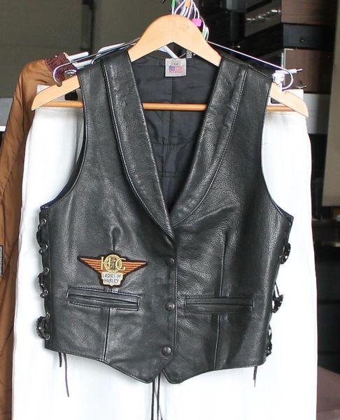 """USA Medium """"Ladies of Harley"""" Vest"""