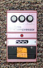 DOD Bass Guitar Compressor FX82 Pedal