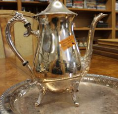 Leonard Silverplate Tea Service