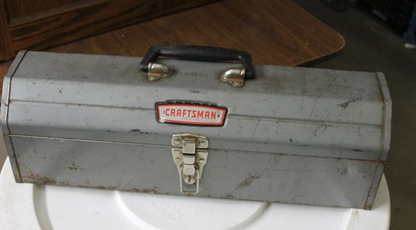 Craftsman USA Grey Metal Toolbox #65161