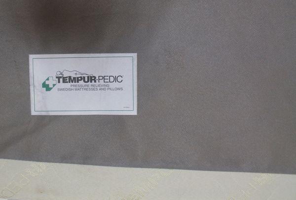 Queen Tempur-Pedic Box Spring