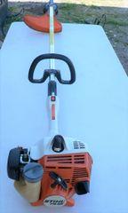 Stihl FS 55 Straight Shaft Gas Brush Cutter/Lawn Trimmer