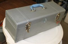 Vintage Union Super Steel Toolbox