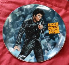 Elvis '68 Comeback Commemorative Plate
