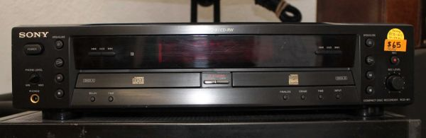 Sony RCD-W1 CD Player Recorder