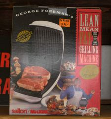 George Foreman Lean Mean Fat Reducing Machine