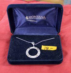 Montana Silversmiths Circle Pendant