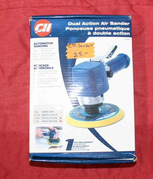 NEW-CH Dual Action Air Sander