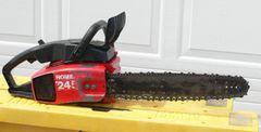 Vintage Homelite 245 Gas Chainsaw
