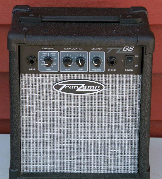 Tranzamp G8 Electric Guitar Amplifier-Portable