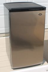 Sanyo Stainless Steel Eclipse Series Compact Refrigerator