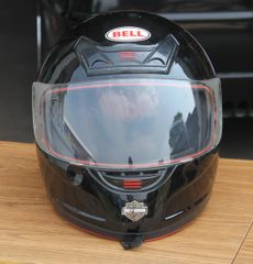 Bell Full Face Helmet w/ Harley Davidson Decals=Medium