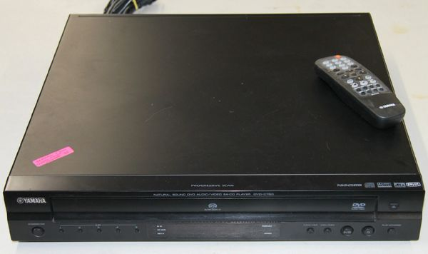 Yamaha 5-Disc CD & DVD Player