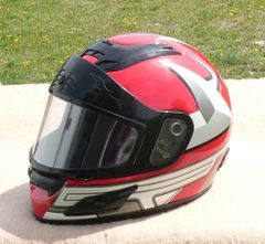 Medium Size Full Face Snell M2000 Motorcycle Helmet