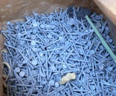 """11.5 lbs 2"""" x 11 ga HDG Roofing Galvanized Nails"""