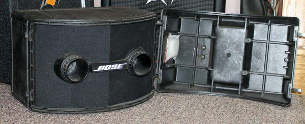 Bose 802 Professional Loudspeaker System w/ Hard Case