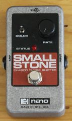 The Electro-Harmonix Nano Small Stone EH4800 Phase Shifter Guitar Pedal