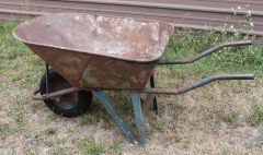 H.D. Steel Contractor Wheelbarrow