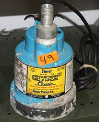 Simer Geyser 1000 Classic Submersible Utility Pump