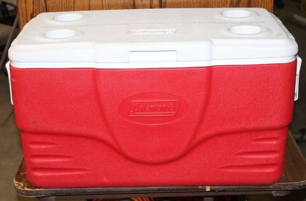 Coleman 6286 Trunk Cooler with Handles