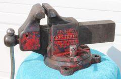 """Vintage Craftsman-5187 4 1/2"""" Bench Vise"""