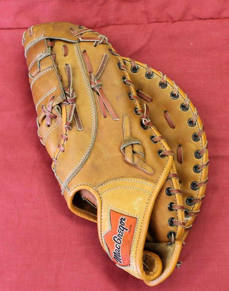 "Vintage MacGregor Big Dipper BM7T First Base 12"" RHT Glove Mitt John Mayberry Autograph Model"