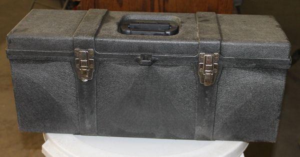 Tuff Box Professional Heavy Plastic Tool Storage Box