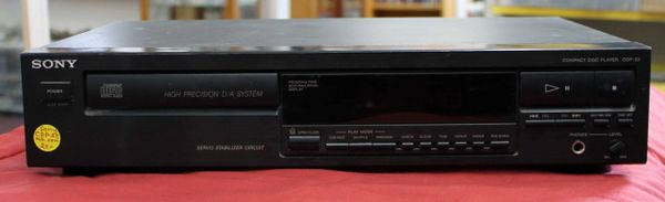 Sony CDP-23 CD Player w/o Remote
