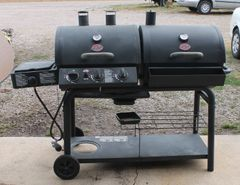 Professional Char Griller BBQ Grill Dual Sides