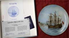 The Gaspe Bay-Legendary Ships of the Seas Collector Plate