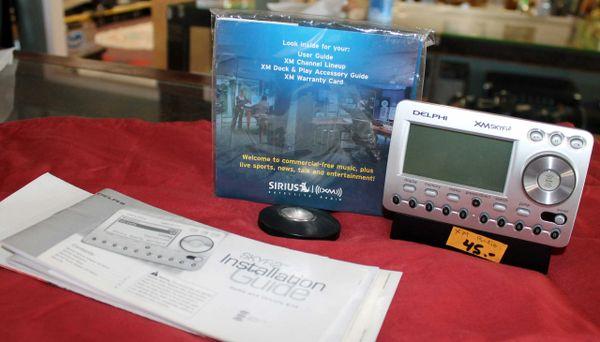 Delphi XM SKYI2 Satellite Radio
