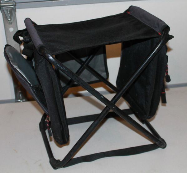 FLW FOLDING STOOL Insulated Thermal Pouches Carry Strap Portable
