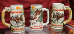 Budweiser Ceramic Mugs