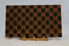 Large Maple and Walnut End Grain Chopping Bolck