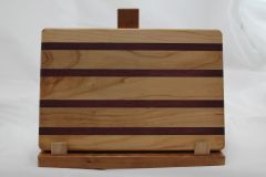 Medium Maple and Purple Heart Cutting Board