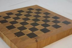 End Grain Maple and Walnut Cutting Board